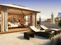Alpiana_Sky_Luxus_Suite_Dachterrasse_Zuchna