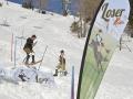 Spektakuläre Abfahrten wagemutiger Rennfahrer waren zu sehen beim traditionellen Loser Bier Fassdauben Rennen beim Loserhütten Steilhang im Skiresort Loser in Altaussee.