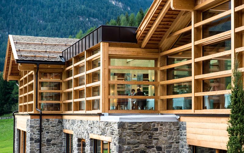 Hotel cyprianerhof tiers am rosenh gel for Hotelplaner architekten