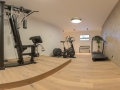 Fitnessraum zur Verwendung