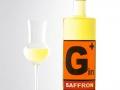 0,5 L Flasche des limitierten Gin+ Saffron von der Feindestillerie Krauss