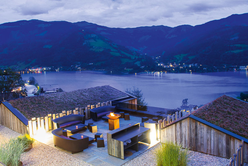 And the oscar goes to senses violett suites for Designhotel zell am see