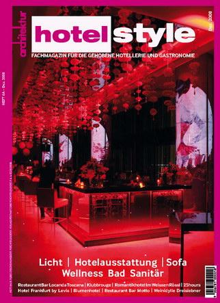 Hotelstyle eMagazin Dezember 2008