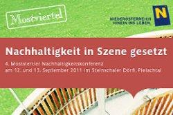 4. Mostviertler Nachhaltigkeitskonferenz
