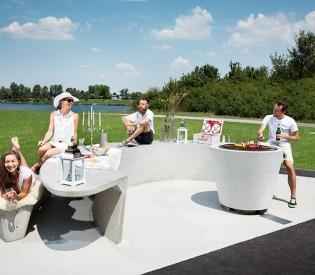 Coole Freizeit-Möbel aus Beton
