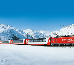 Die ganze Schweiz in einem Zug entdecken