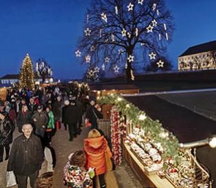 Schloss Hof im Advent