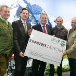 Die Weltausstellung EXPO in Mailand als Höhepunkt im Jubiläumsjahr 2015