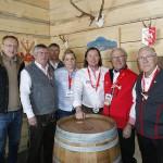 Die Arlberg Lounge ist eröffnet – mit wehenden SCA Fahnen