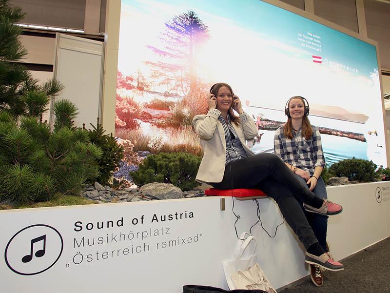 Österreich-Auftritt auf der ITB im Zeichen der Musik