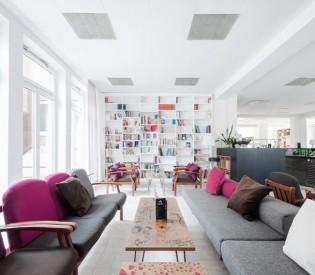 Staatspreis-Design 2015 für Magdas Hotel
