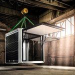 Energieautarker Pavillon CUBOX