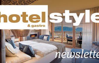 hotelstyle & gastro Newsletter!