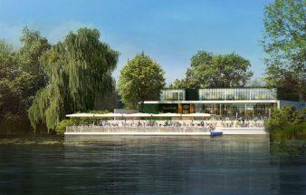An der schönen Alten Donau – Strandcafé
