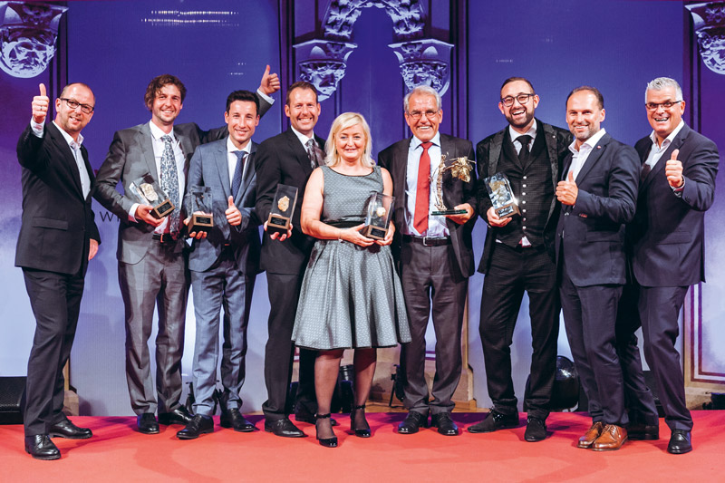 Gruppenfoto Wine Award 2017
