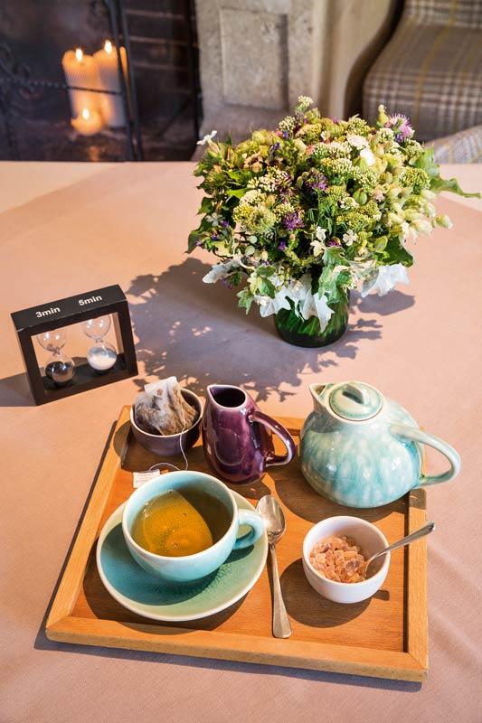 Teekanne und Tee