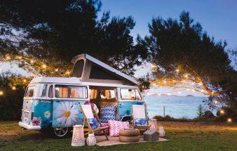 Nostalgisches Ibiza-Feeling – Campingbus
