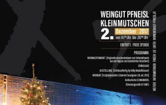 Weihnachtliches Charity Event am Weingut Pfneisl