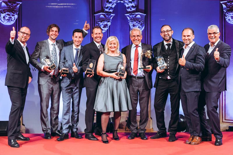 WINE Culture Award 2017 Gruppenfoto