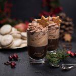 Köstlicher Weihnachtscappuccino mit Zimt