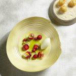 Erdbeeren mit Pelargonie von Heinz Reitbauer