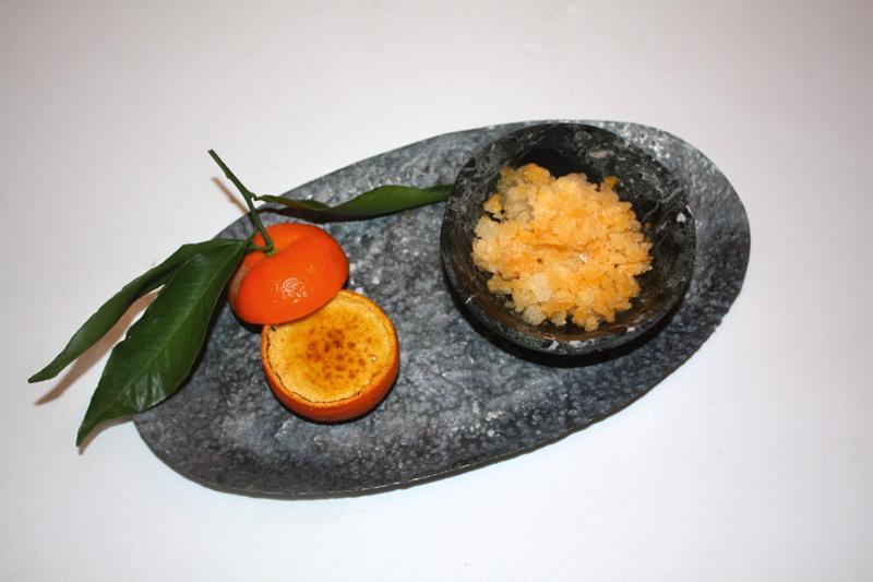 Mandarine-offen