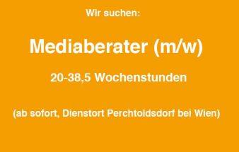 Wir suchen Mediaberater/innen!