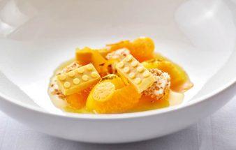 Rezepttipp: Gebrannte Milch und Cocos,Mandarine&Physalis