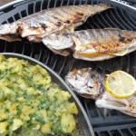 Fisch grillen beim Weltmeister – Adi Matzek
