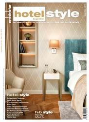 Hotelstyle eMagazin Sep/Okt 2018