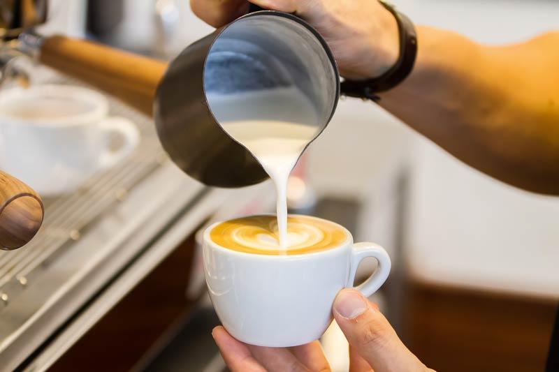 Barista Kaffeeschaum