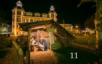 Besinnliche Weihnachtszeit im Schlosshotel Velden