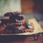 Low Carb Advent Brownies