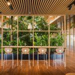 Riesenbambus in der Hotelarchitektur
