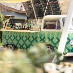 Kultige Hotelbar – VW Bulli