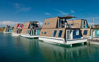 Komforturlaub am Hausboot – Marina Azzurra Resort