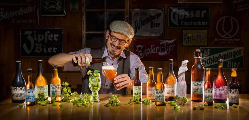 holzfassgereiftes bier erzbergbräu